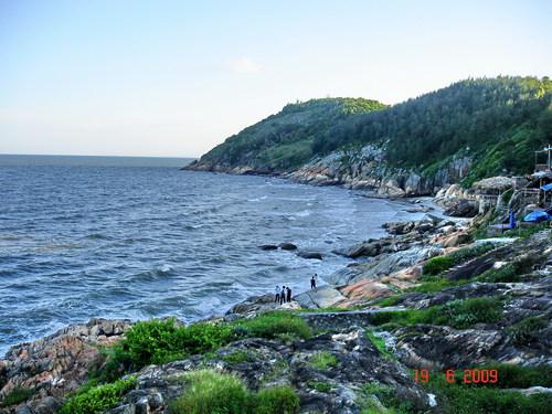 Biển Sầm Sơn vào những ngày hè nóng bức