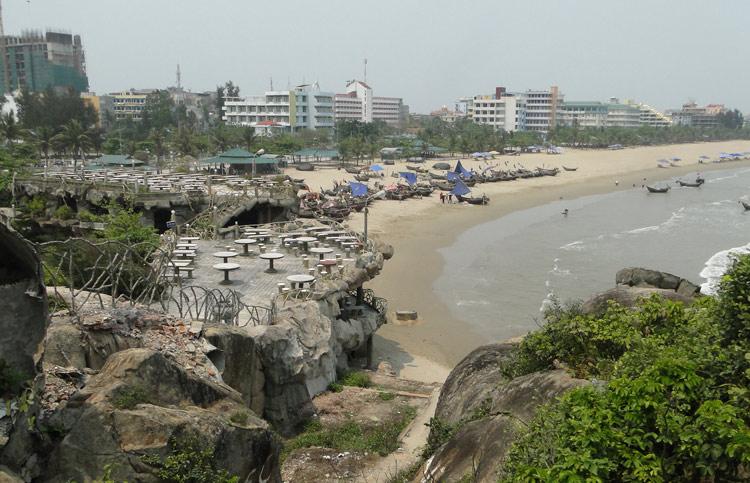 Một góc chiều biển Sầm Sơn