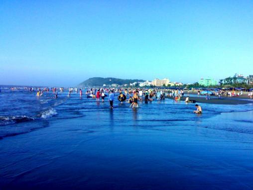 Nét đẹp của biển Sầm Sơn.