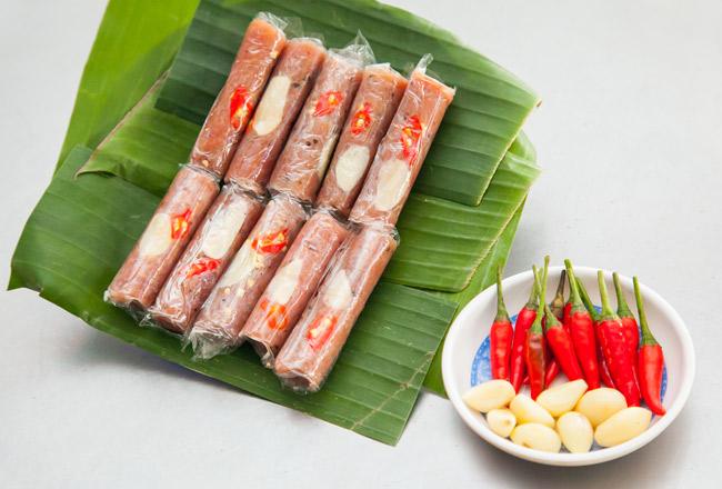 Đặc sản nem chua Thanh Hóa
