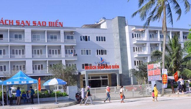Toàn bộ khung cảnh khách sạn Sao Biển Hải Tiến