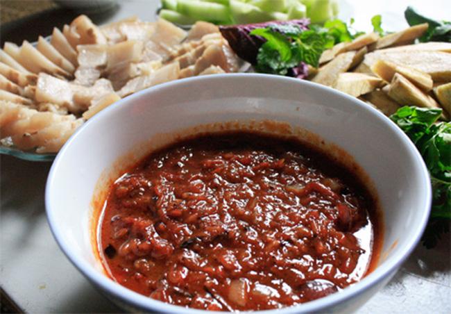 Món mắm tép Hà Yên Thanh Hóa