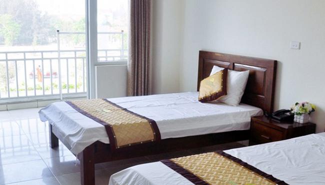 Khách sạn Sao Biển với thiết kế đơn giản nhưng không kém sự trang nhã